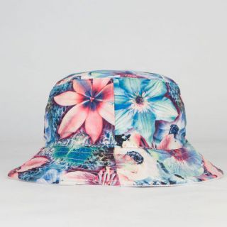 Floral Reversible Bucket Hat White One Size For Women 234658150