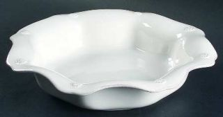 Juliska Ceramics Berry & Thread Whitewash 9 Soup/Pasta Bowl, Fine China Dinnerw