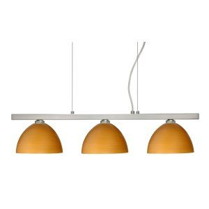 Besa Lighting BEL 3LP 4679OK SN Brella Island Light