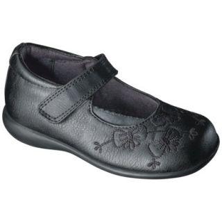 Toddler Girls Rachel Shoes Shana Smooth Mary Jane   Black 7.5