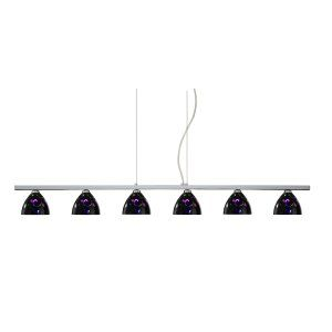 Besa Lighting BEL 6LP 5440VB PN Sabrina Island Light