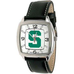 Michigan State Spartans Game Time Pro Retro Leather Watch