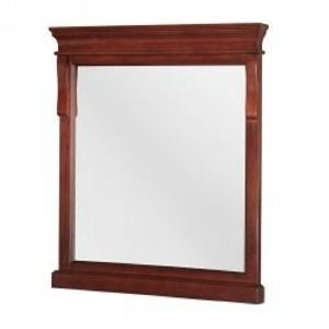 Foremost FMNATM2432 Naples 24 In. W X 32 In H Mirror In Tobacco