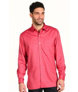 Tommy Bahama Harbor Island L/S Woven Mens Long Sleeve Button Up (Red)