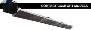 Berner Compact Heater   30,000 40,000 BTU, 10 Reflector, Stainless, Natural Gas