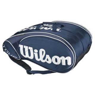 Wilson Tour Blue/White 15 Pack Tennis Bag  Blue