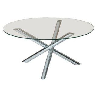 Coffee Table: Glass Coffee Table