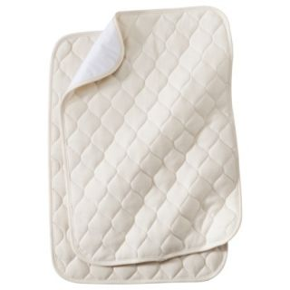 TL Care Quilted Lap Pad & Burp Pad, 2 of each