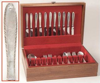 Alvin Southern Charm (Strl,1947,No Monograms) 75 Piece Set   Sterling, 1947, No