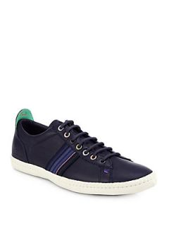 Paul Smith Galaxy Stripe Lace Up Sneakers   Navy : Paul Smith Shoes