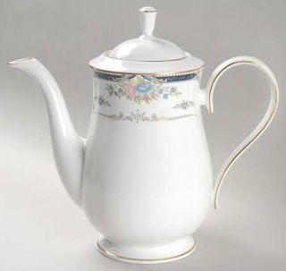 Lenox China Abigail Coffee Pot & Lid, Fine China Dinnerware   Debut Line, Pastel