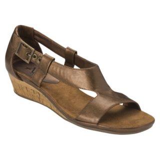 Womens A2 by Aerosoles Crown Chewls Sandal   Bronze 7.5M