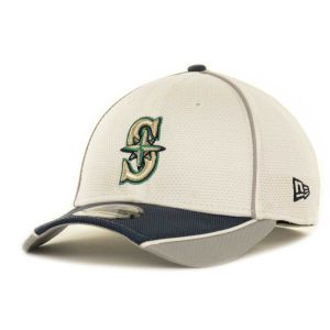Seattle Mariners New Era MLB Abrasion Plus 39THIRTY Cap