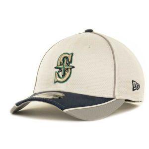 Seattle Mariners New Era MLB Abrasion Plus 39THIRTY Cap