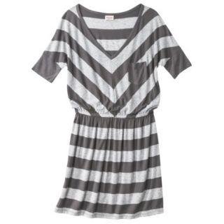 Mossimo Supply Co. Juniors V Neck Dress   Flat Gray L(11 13)