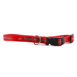 Detroit Red Wings Medium Dog Collar