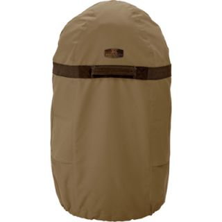 Classic Accessories Smoker Cover   Tan, Fits Large Round Fryers and Smokers up
