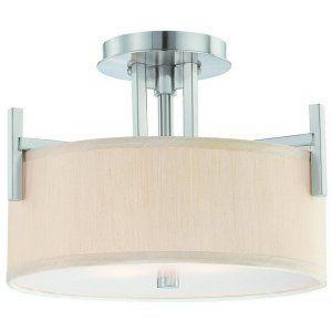 Dolan Designs DOL 2945 09 Tecido 2 Light Semi Flushmount