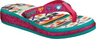Infant/Toddler Girls Skechers Twinkle Toes Sunshines Summerglow   Hot Pink/Aqua