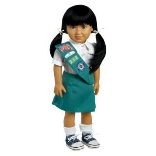 Adora Play Doll Jasmine   Girl Scout Jr. 18 Doll & Costume
