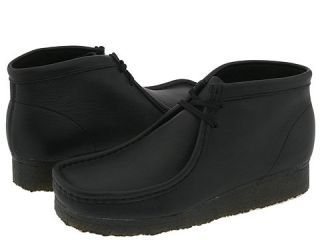 Clarks Wallabee Boot Mens Lace up casual Shoes (Black)