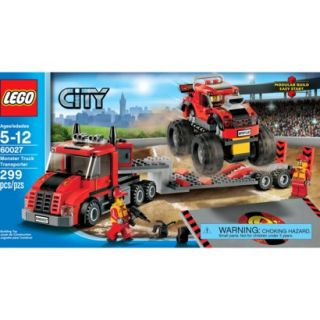 LEGO City Monster Truck Transporter 60027