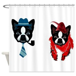 DAISY MEETS DUKE Shower Curtain  Use code FREECART at Checkout