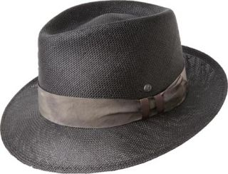 Kangol Distressed Hiro Trilby Black Hats ed50e049d644