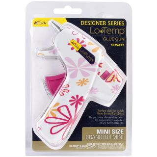 Designer Mini Glue Gun low Temp Daisy Print