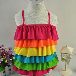 Girls Rainbow One piece Swimwear