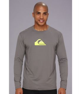 Quiksilver Solid Streak L/S Surf Shirt AQYWR00046 Mens T Shirt (Black)