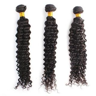 Longlasting Indian Deep Wave Weft 100% Unprocessed Remy Human Hair Extensions Mixed Lengths 14 16 18 Inch