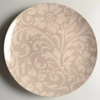 Home Claremont Scroll Dinner Plate, Fine China Dinnerware   Beige & Cream Floral