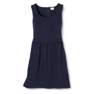 Merona Womens Ponte Dress   Xavier Navy   XS