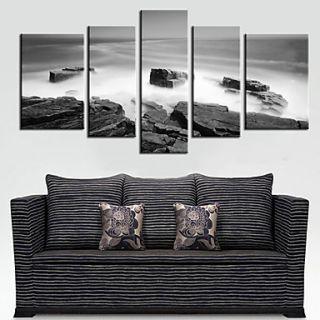 Stretched Canvas Art Landscape Sea Set of 5