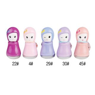 Cute Doll Shaped Nail Polish No.3 (Assorted Colors)