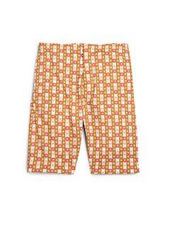 Marni Toddlers & Little Girls Polka Dot Shorts   Orange