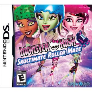 Monster High Skultimate Roller Maze (Nintendo DS)