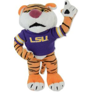 LSU Tigers Forever Collectibles NCAA 8 Inch Plush Mascot