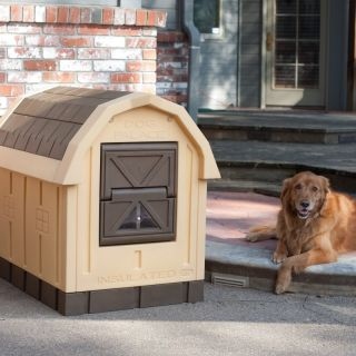 Dog Palace Insulated Dog House DP20 Multicolor   DP 20