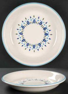 Marcrest Swiss Alpine Pie Serving Plate, Fine China Dinnerware   Blue Flowers, B