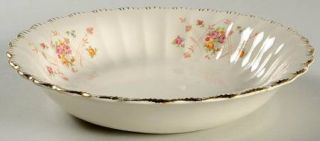 Limoges American New Princess (Scalloped,Gold Trm) Coupe Soup Bowl, Fine China D