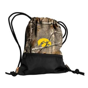 Iowa Hawkeyes Logo Chair Real Tree String Pack