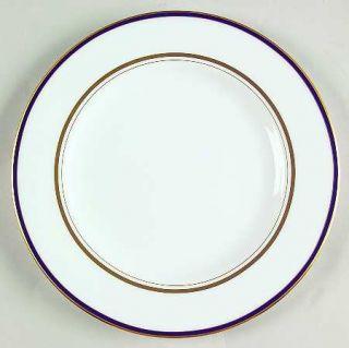 Lenox China Library Lane Navy Salad Plate, Fine China Dinnerware   Kate Spade,Na