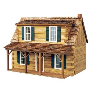 Real Good Toys Adirondack Cabin Kit   1 Inch Scale Multicolor   J 550